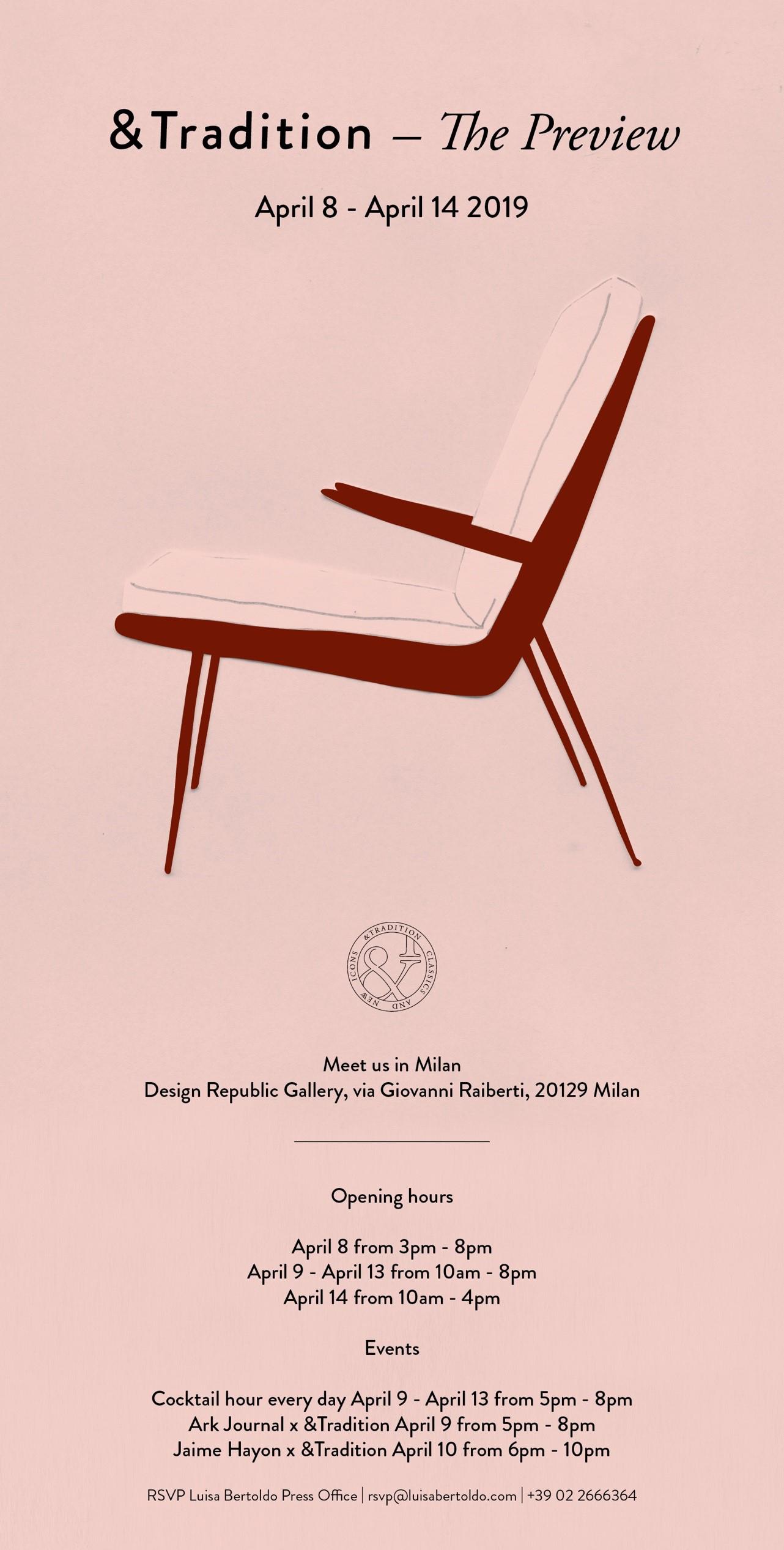 Salone del Mobile.Milano 9-14 april