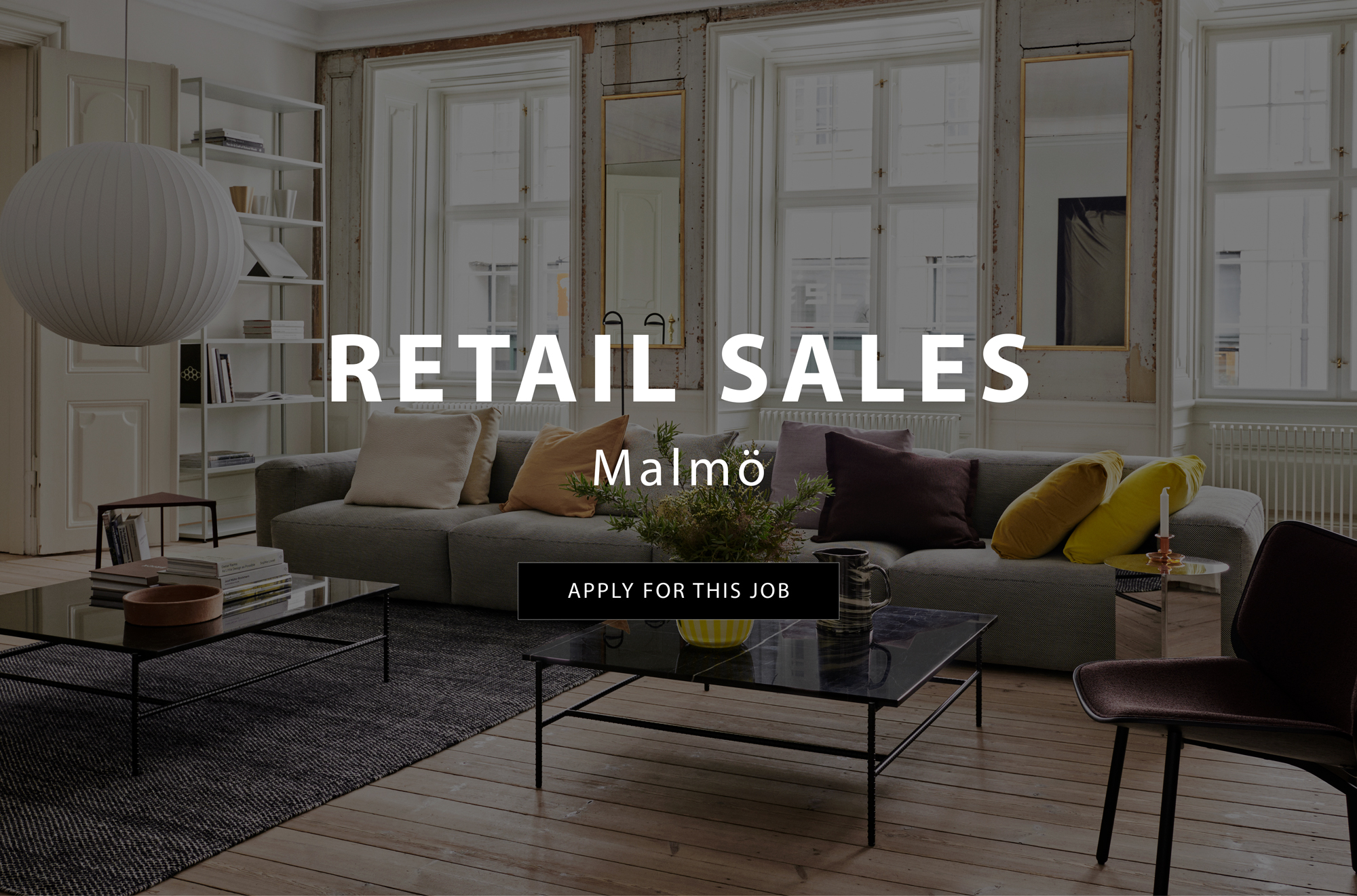 Gulled söker personal – Retail Sales Malmö