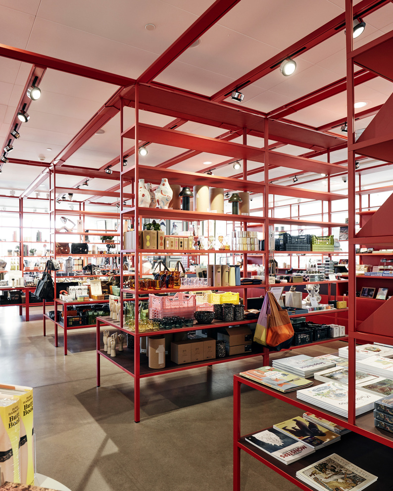 ARoS Aarhus Art Museum 2019_New Order Shelving System_PC Portable_Colour Crate_Time